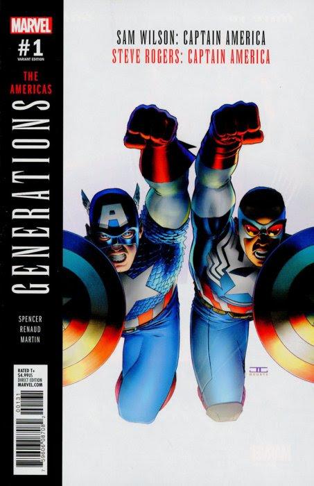 Generations - Sam Wilson Captain America & Steve Rogers Captain America #1