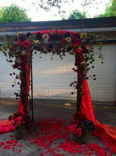 36 Fall Wedding Arch Ideas for Rustic Wedding   Fall