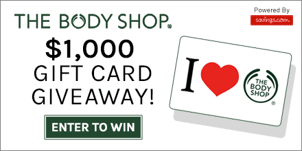 The Body Shop Giveaway, fashion, beauty, win, giveaway, The Body Shop, the body shop coupons, the body shop online, the body shop coupons, the body shop online store, the body shop online coupon codes, the body shop online shopping