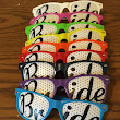 Bride Pinhole Glasses Mixed Colors  With Black Bride Text BP1000