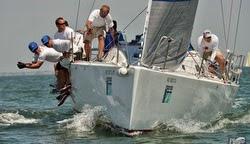 J/122 sailing Charleston