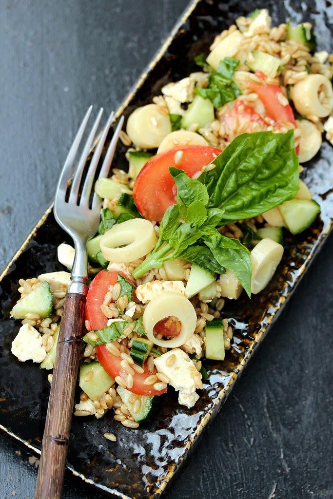 Cavena Naked Oats Hearts of Palm Salad