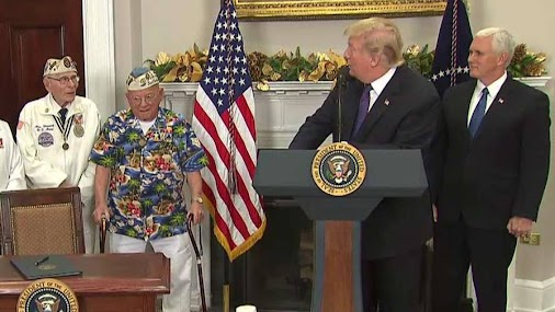 close Trump: Nation pauses to remember Pearl Harbor President signs Pearl Harbor Day proclamation. Every...