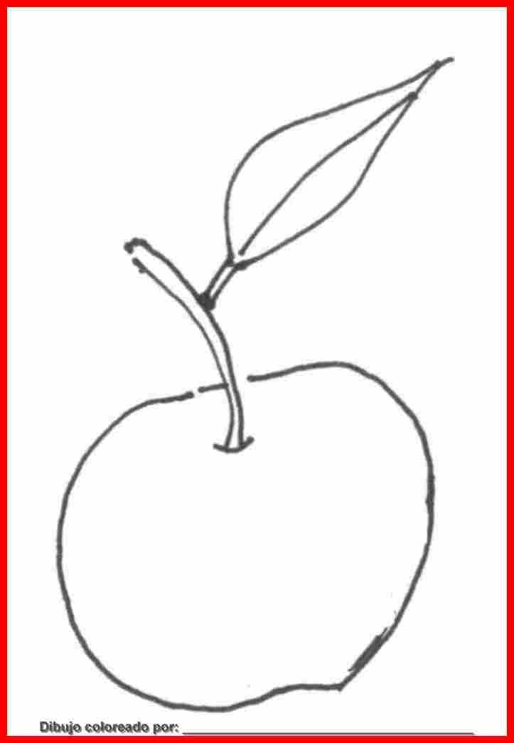 Dibujo De Fruta Para Colorear E Imprimir