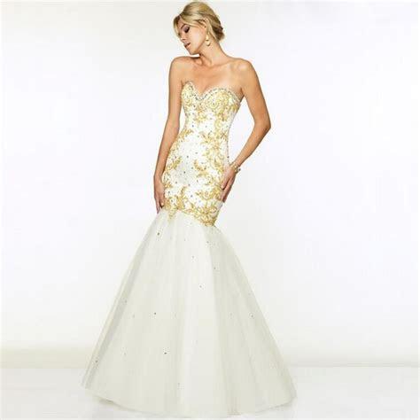 Sweetheart Crystal Long Fishtail Prom Dress   WALKER'S BRIDAL