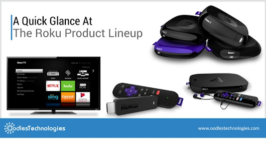 A Quick Glance At The Roku Product Lineup