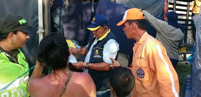 Consejo del Riesgo entrega ayudas humanitarias a afectados por las lluvias