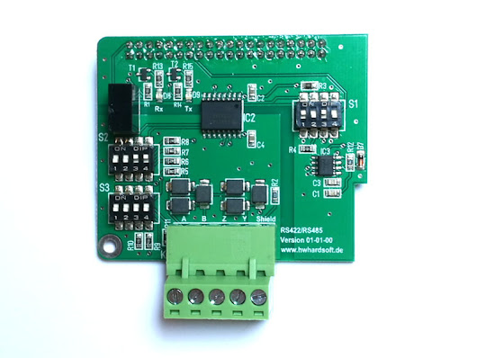 RS422 / RS485 Raspberry Pi Hat