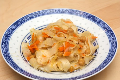 chickpea noodles