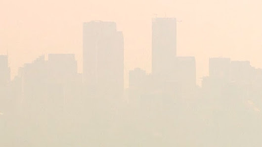 Air quality expected to drop to extreme levels in Calgary