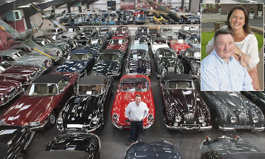 For sale, 450 cars. One bonkers but besotted owner