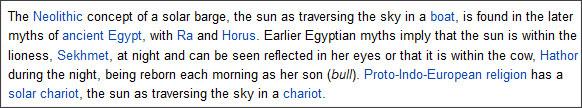 http://en.wikipedia.org/wiki/Solar_deity