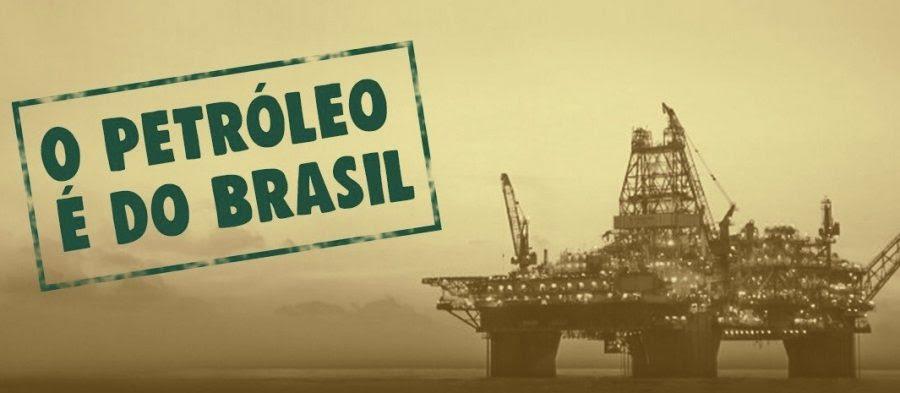 Resultado de imagem para o petróleo é nosso