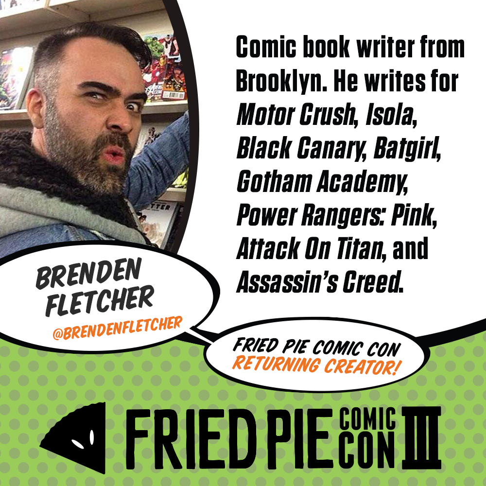 Image result for fried pie con comic con III