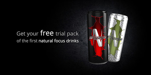 Try the first natural focus drinks eNgage & diseNgage 100% for FREE