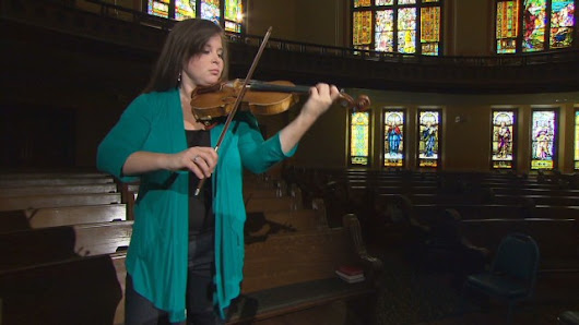 Violinist for a cause: Vasculitis awareness