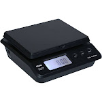 AWS PS-25 - Postal scales - capacity: 25 kg / 55 lbs - graduation: 2 g / 0.2 oz - 7.99 in x 7.99 in