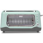 Dash 2-Slice Clear View Toaster - Aqua
