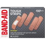 Band-Aid Brand Adhesive Bandages, Tough Strips, 60 ct.