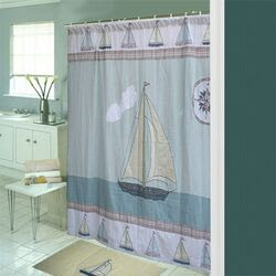 Patch Magic Golf Shower Curtain | Wayfair