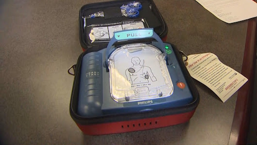 AED defibrillator saves sheriff deputy's life | KING5.com
