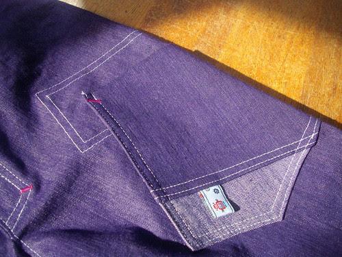 Denim pants, pocket detail by oddwise