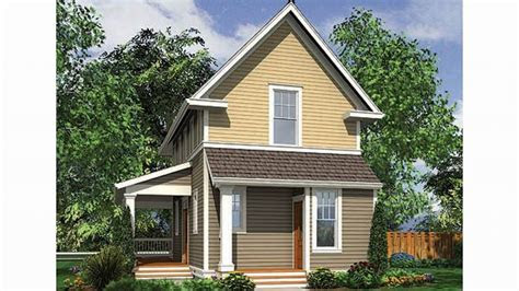 small home house plans  narrow lots small homes plans