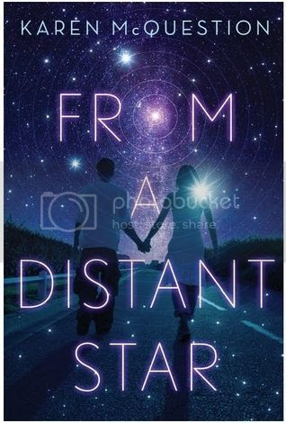 The Book Rest - YA Book Review - From A Distant Star by Karen McQuestion