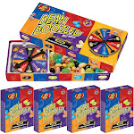 Jelly Belly Beanboozled Jelly Beans Party Pack, 1 Spinner Gift Box and 4 Refill Boxes