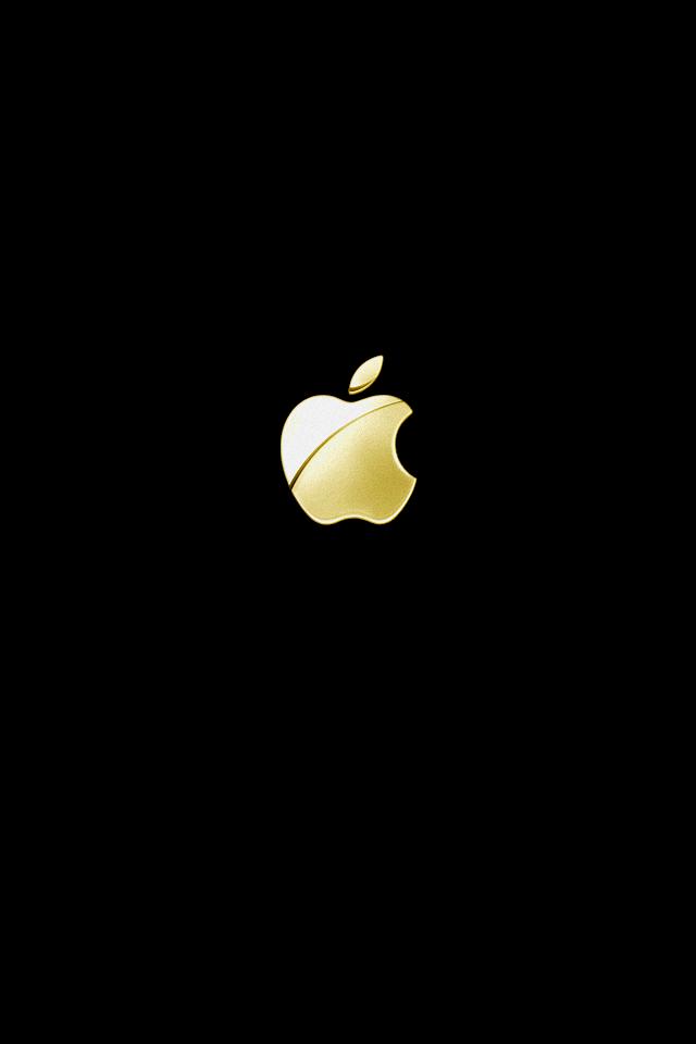 Download 800 Wallpaper Apple Black Gold  Paling Baru