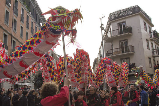 Italy - Milan - Chinese New Year