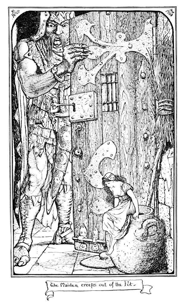 Henry Justice Ford - The grey fairy book edited by Andrew Lang , 1905 (illustration 9)