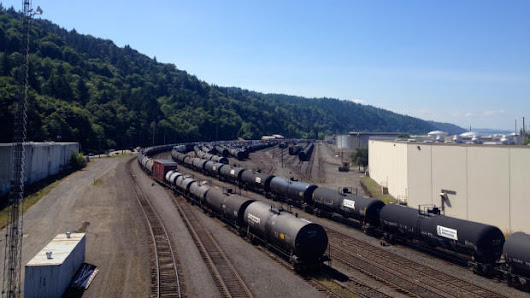 Canadian Crude Oil Is Going By Rail To Portland Before Shipping Off To Asia