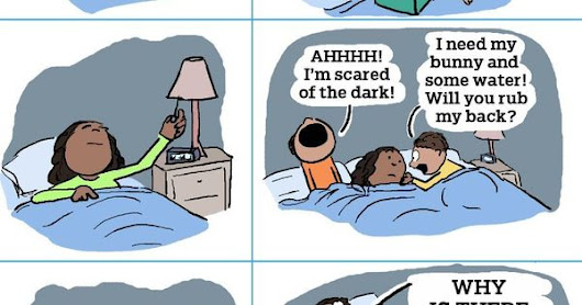 Here's What Kids Do to Your Sleep (in Cartoon Form) | More LOLs & Funny Stuff for Moms | NickMom | truth | Pinterest