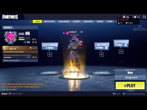 Fortnite Save The World Free Code Giveaway | Get Free V