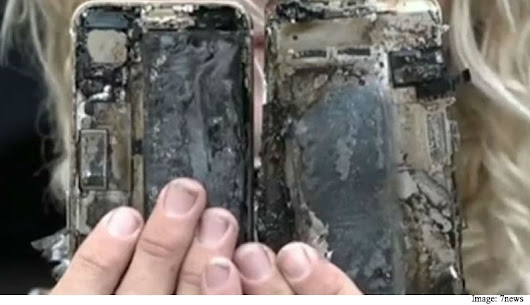 iPhone 7 Reportedly Catches Fire Inside Surfer's Car