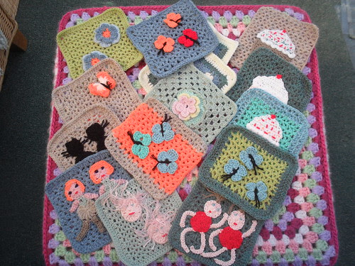 Look how busy bonsall has been! Your Squares have arrived bonsall! Thank you I love them!