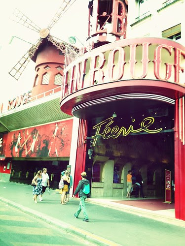 at Moulin Rouge by photo & life