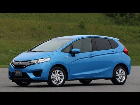2015 Honda Jazz/Fit first drive in Japan - YouTube