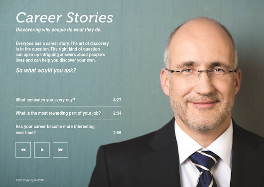 New for 2015 Career Stories - Career Guidance Charts