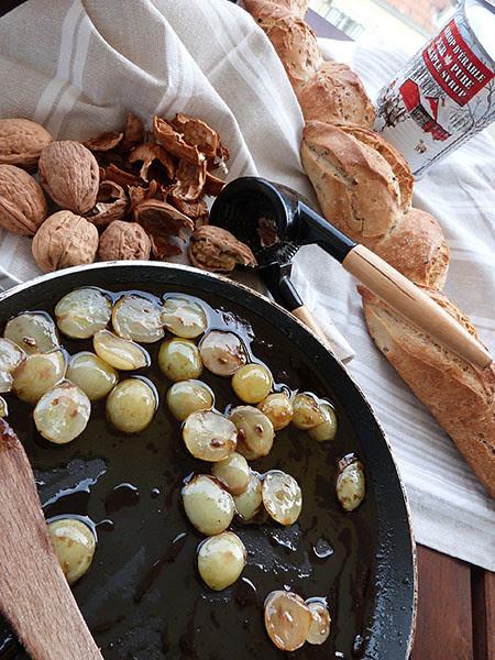 raisins au sirop d'érable et chipotle
