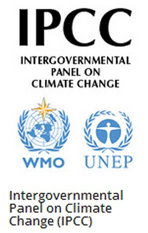 Logo for the IPCC - Intergovernmental Panel on Climate Change