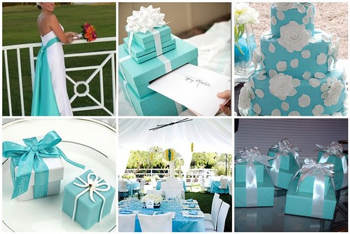 Matrimonio In Tiffany : Free hairstyle tiffany wedding themes