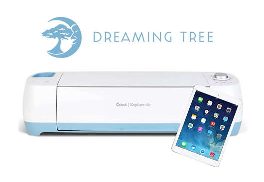 Cricut Explore Air + Apple iPad + $100 Dreaming Tree Gift Card Giveaway