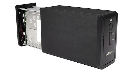 "StarTech Dual-Bay 3.5"" Drive Enclosure offers multiple RAID functions"
