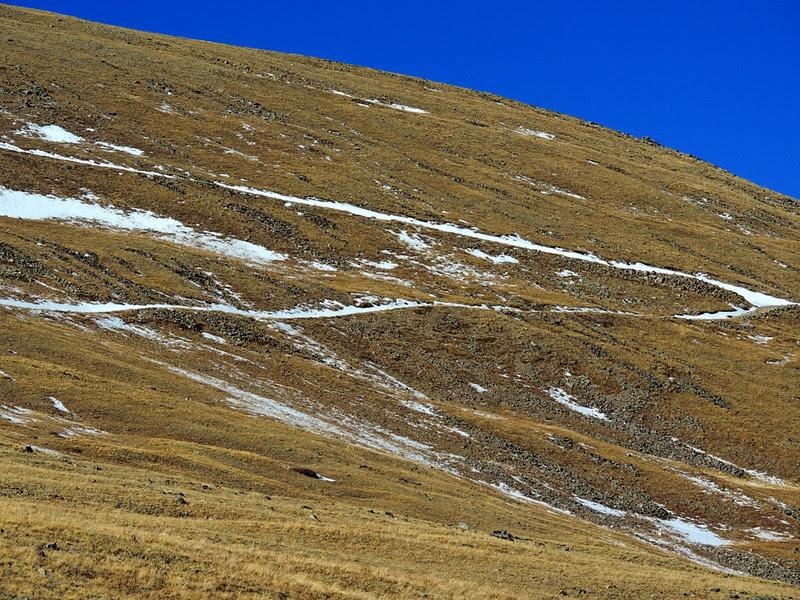 Yeah, it's steep!
