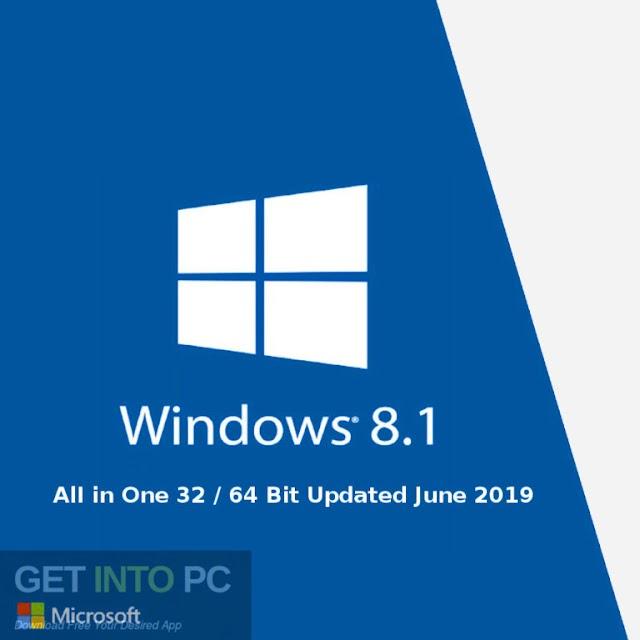 Windows 8.1 All in One 32/64 Bit Diperbarui Juni 2019 Unduh