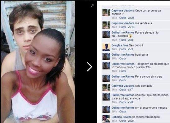 Polícia de Minas apura caso de racismo na internet.1