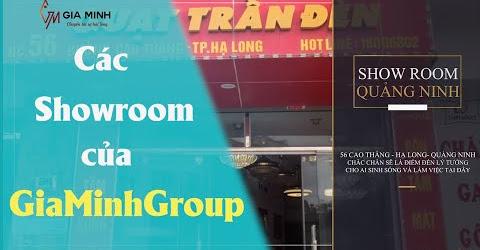 GIỚI THIỆU 10 SHOWROOM GIA MINH GROUP