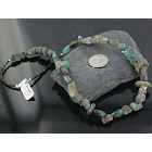Certified Authentic Navajo .925 Sterling Silver Natural Cripple Creek Turquoise Native American Necklace 370907899248